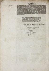 Andreas Alexander, Mathemalogium, Colophon