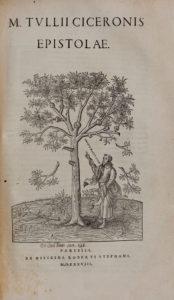 Cicero, Marcus Tullius, Opera, Epistolae