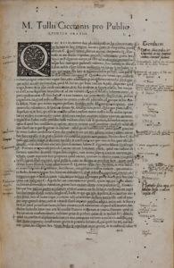 Cicero, Marcus Tullius, Opera, Orationes
