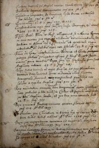 Matthew Paris, Flores Historiarum (1570) Front Flyleaf