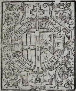 Matthew Paris, Flores Historiarum (1570) Initial