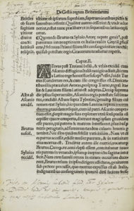 Geoffrey of Monmouth, Historia regum Britanniae
