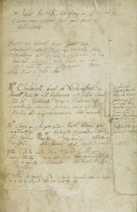 Geoffrey of Monmouth, Historia regum Britanniae, Rear Flyleaf