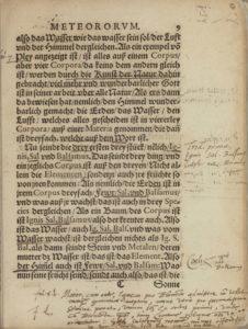 Paracelsus, Das buch meteorvm, (1566), 9r