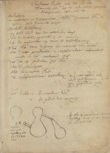 Paracelsus, Das buch meteorvm, (1566), Front Flyleaf