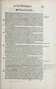 Thomas Walsingham, Historia brevis (1574) 99