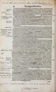 Thomas Walsingham, Ypodigma Neustriae (1574) 6